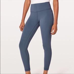 Lululemon Align Slate blue 7/8 leggings